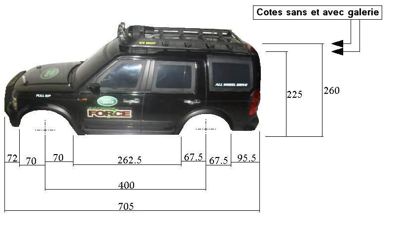 Dimensions des carrosseries 1/6 New Bright Cotes_LR_cote