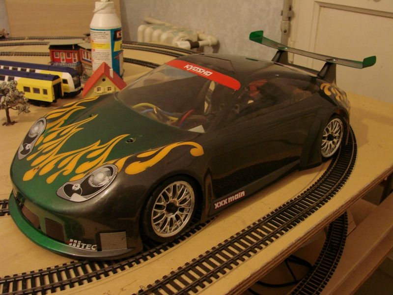 Kyosho EP pure ten  - Ma drifteuse 1/10 German Touch 01
