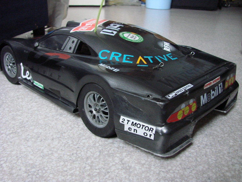 Shaft Avioracing 1/10 Voiture Thermique Rally : Ma première thermique 03