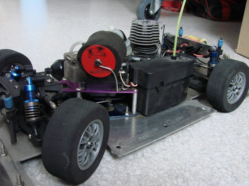 Shaft Avioracing 1/10 Voiture Thermique Rally : Ma première thermique 10