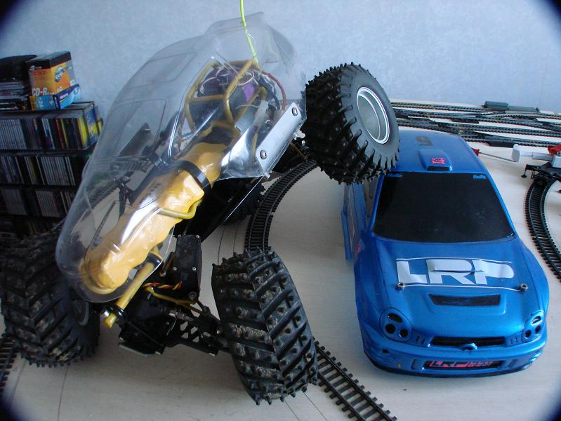 Proto Crawler Home made V.1 - 2003 01