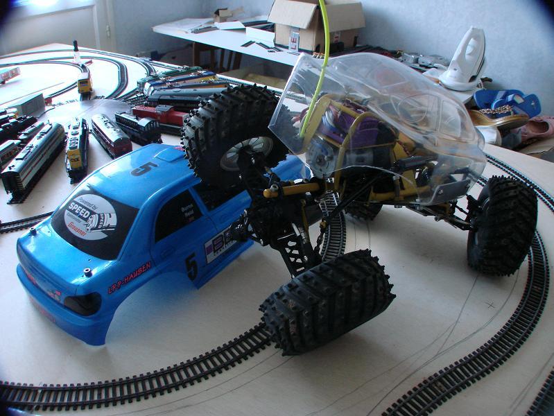 Proto Crawler Home made V.1 - 2003 02