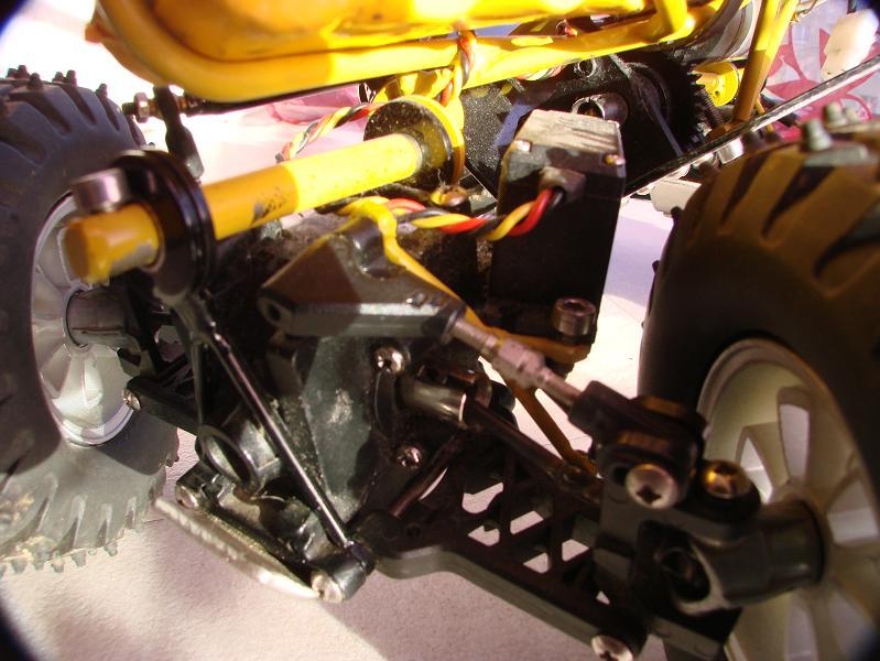 Proto Crawler Home made V.1 - 2003 05
