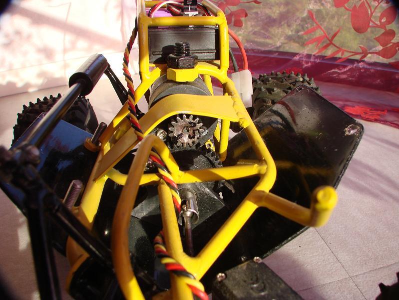 Proto Crawler Home made V.1 - 2003 07