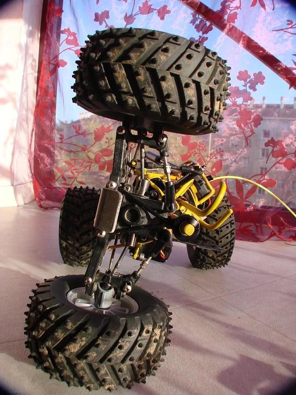 Proto Crawler Home made V.1 - 2003 08