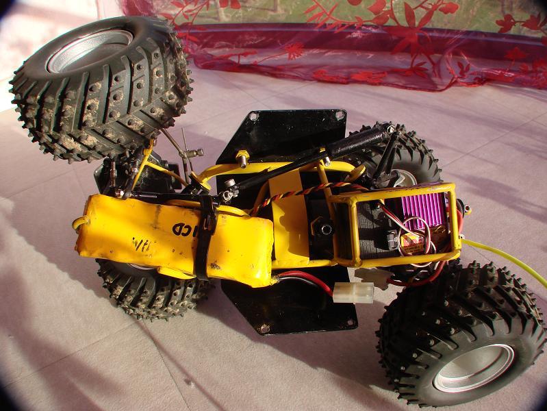 Proto Crawler Home made V.1 - 2003 09