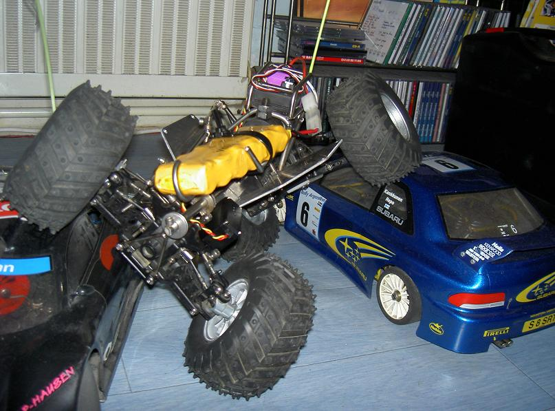 Proto Crawler Home made V.1 - 2003 10