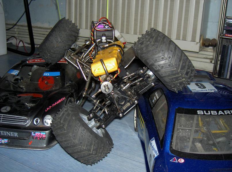 Proto Crawler Home made V.1 - 2003 11