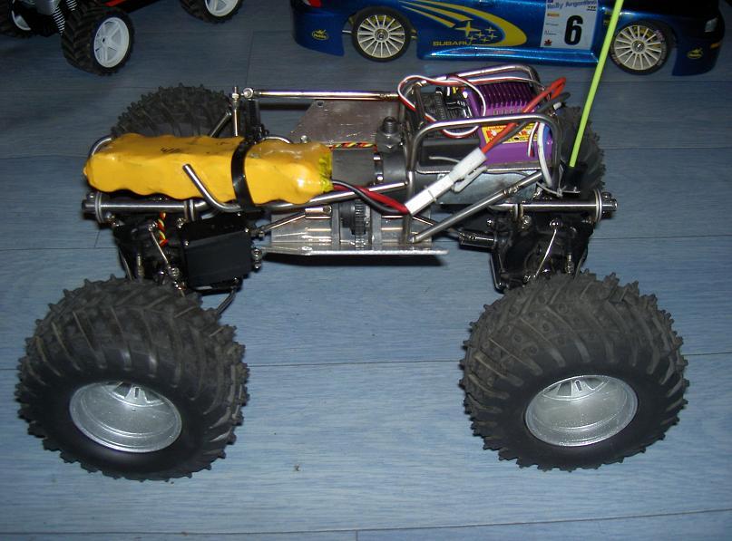 Proto Crawler Home made V.1 - 2003 12