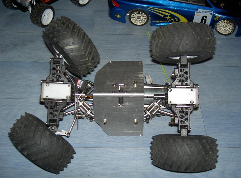 Proto Crawler Home made V.1 - 2003 13