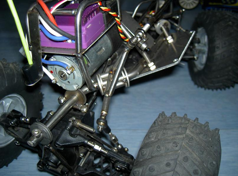 Proto Crawler Home made V.1 - 2003 16