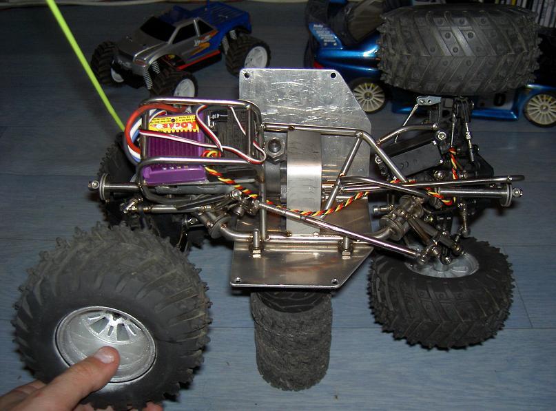 Proto Crawler Home made V.1 - 2003 17