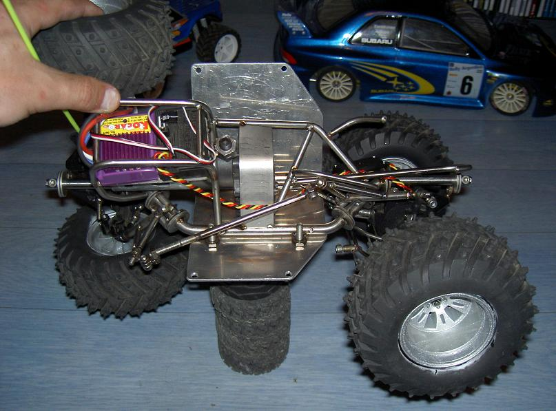 Proto Crawler Home made V.1 - 2003 19
