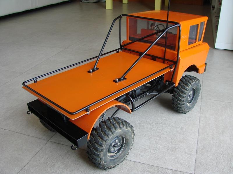Variantes de carrosserie sur SCX10 d'origine. 185