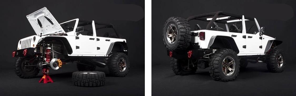 La vraie échelle des RC scales. Capo-Jeep