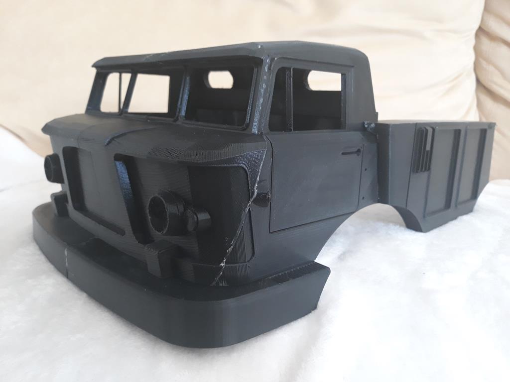 Camion Zil 131 6x6 impression 3D 36