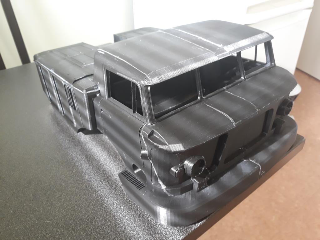 Camion Zil 131 6x6 impression 3D 54