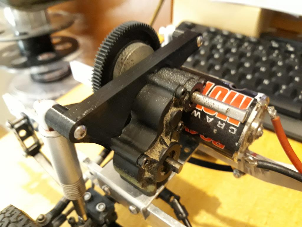 Dodge A100 4x4 - Pont SDI et trans axial 015