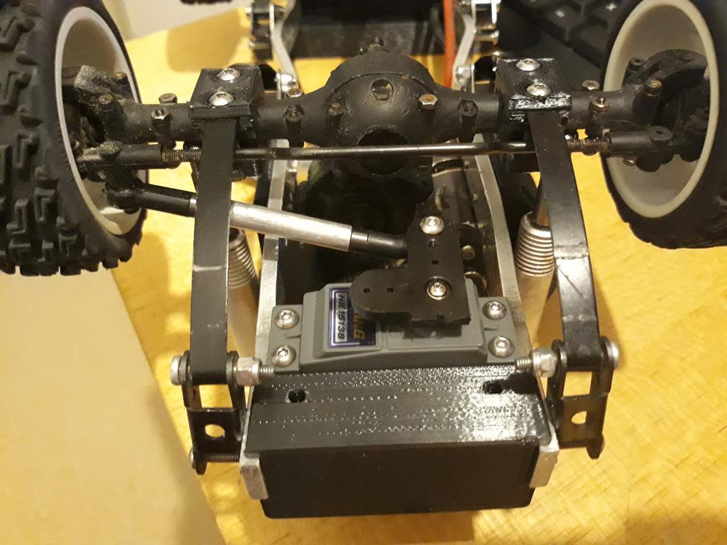Dodge A100 4x4 - Pont SDI et trans axial 025
