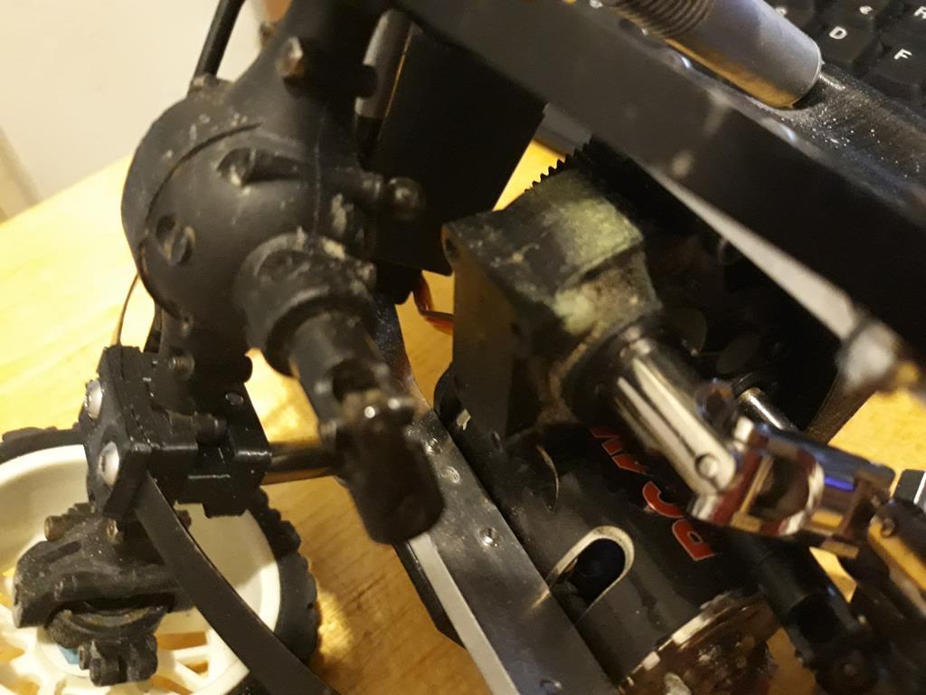 Dodge A100 4x4 - Pont SDI et trans axial 029