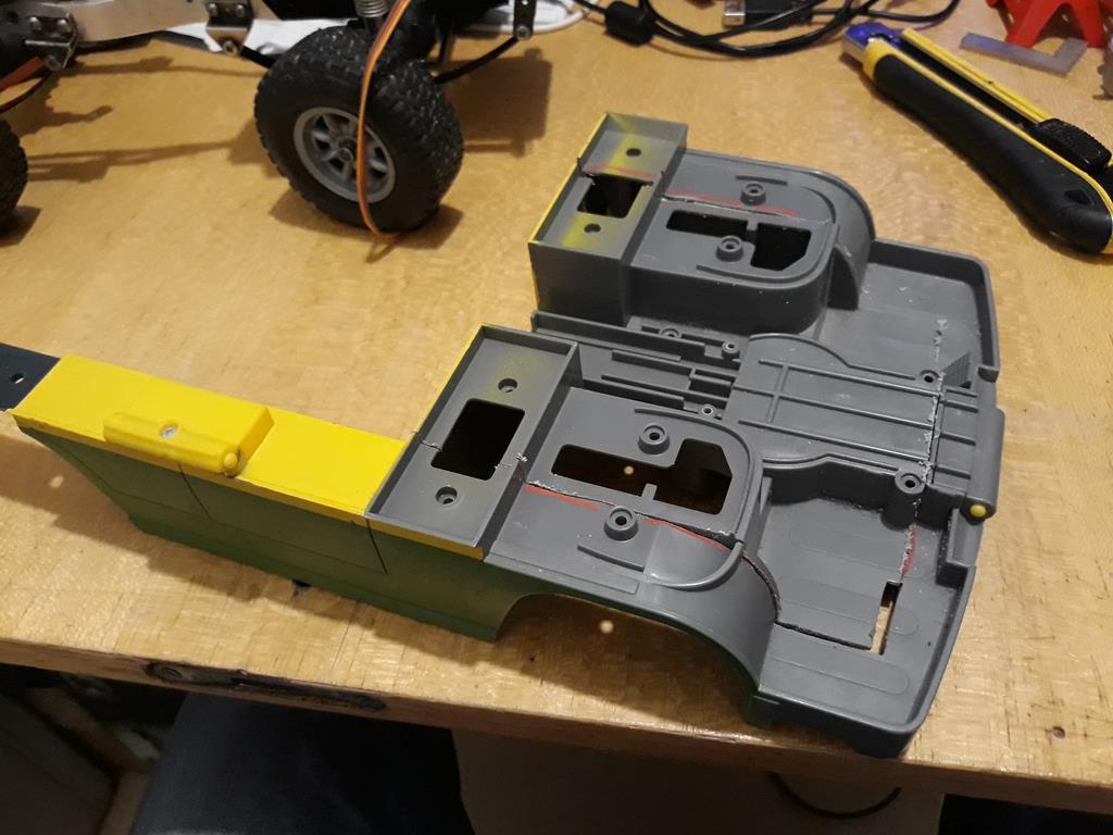 Dodge A100 4x4 - Pont SDI et trans axial 033