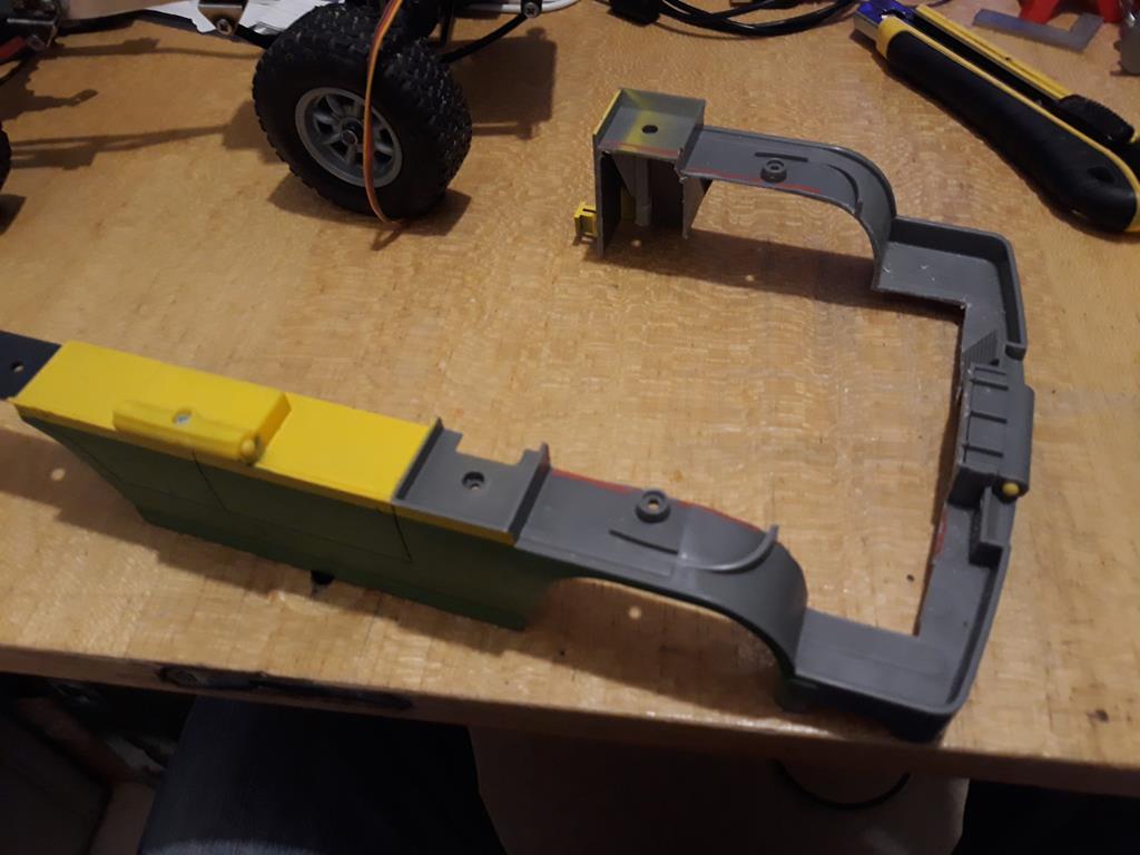 Dodge A100 4x4 - Pont SDI et trans axial 034