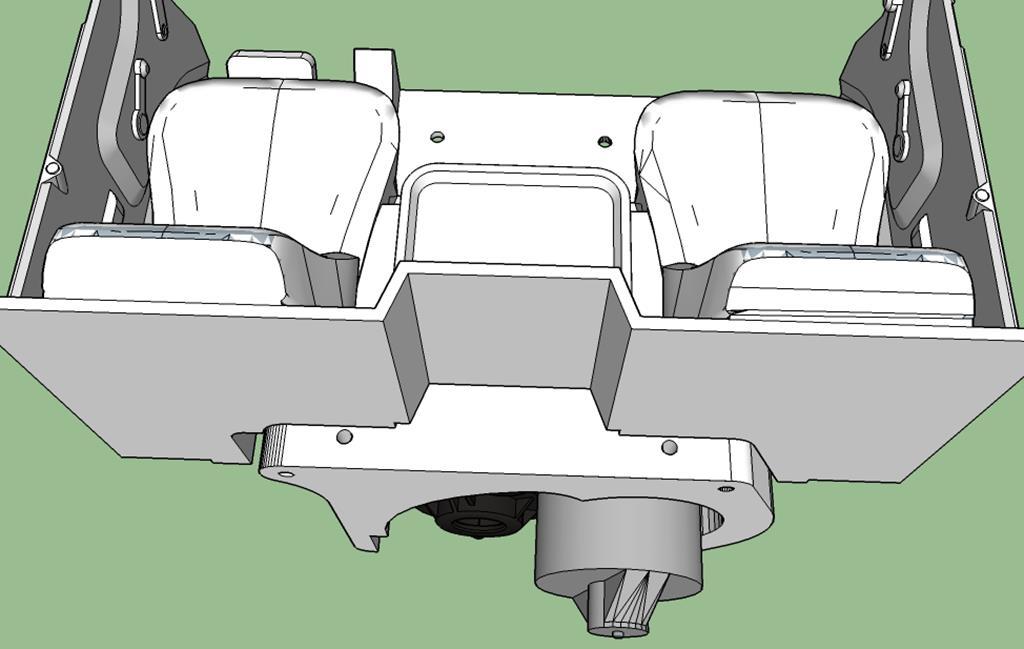 Dodge A100 4x4 - Pont SDI et trans axial 036