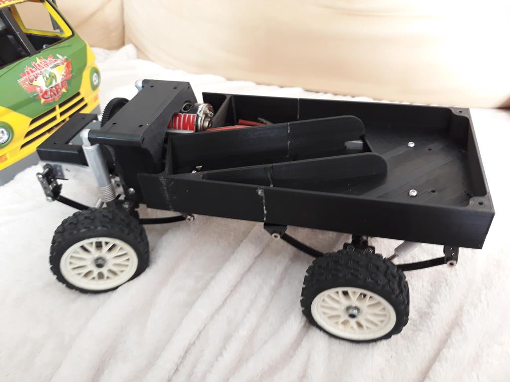 Dodge A100 4x4 - Pont SDI et trans axial 055