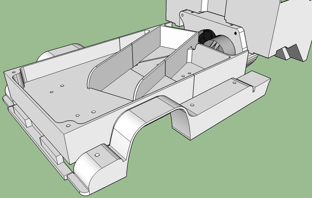 Dodge A100 4x4 - Pont SDI et trans axial 066