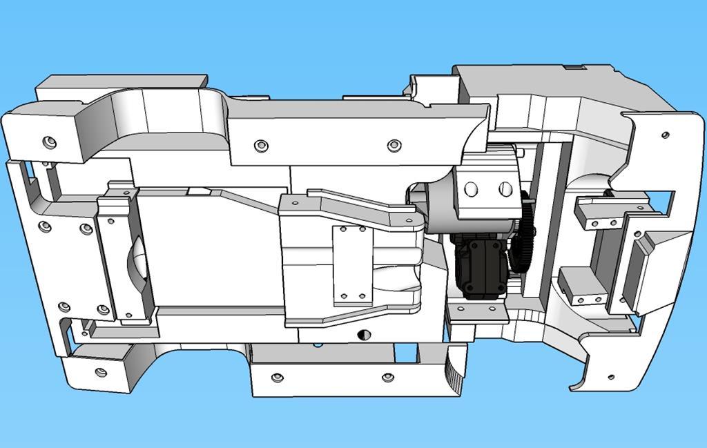 Dodge A100 4x4 - Pont SDI et trans axial 069