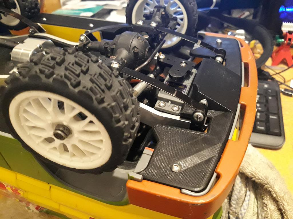 Dodge A100 4x4 - Pont SDI et trans axial 070