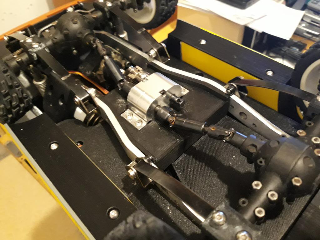 Dodge A100 4x4 - Pont SDI et trans axial 073
