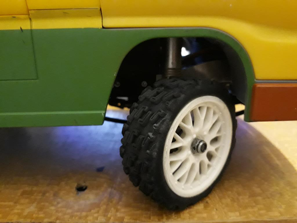 Dodge A100 4x4 - Pont SDI et trans axial 077