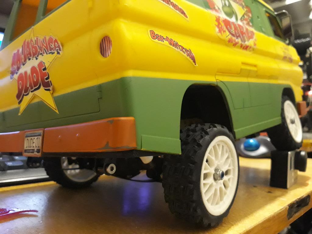 Dodge A100 4x4 - Pont SDI et trans axial 080