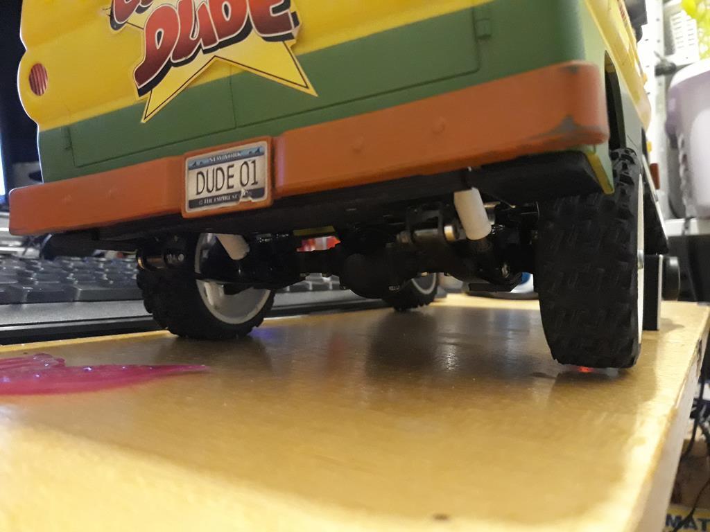 Dodge A100 4x4 - Pont SDI et trans axial 081
