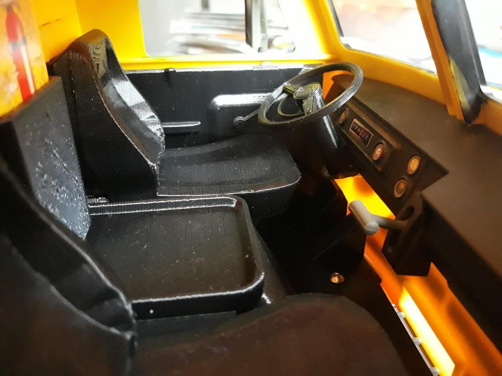 Dodge A100 4x4 - Pont SDI et trans axial 086