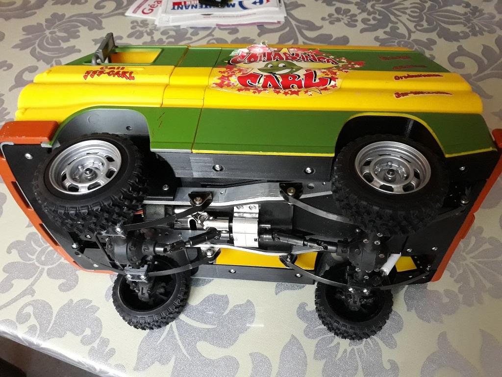 Dodge A100 4x4 - Pont SDI et trans axial 089