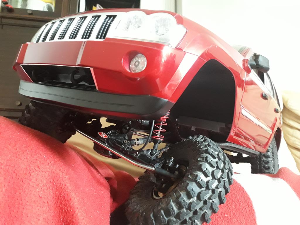 TRACTION HOBBY CRAGSMAN - Jeep Grand Cherokee 5.7L Limited 2006 20