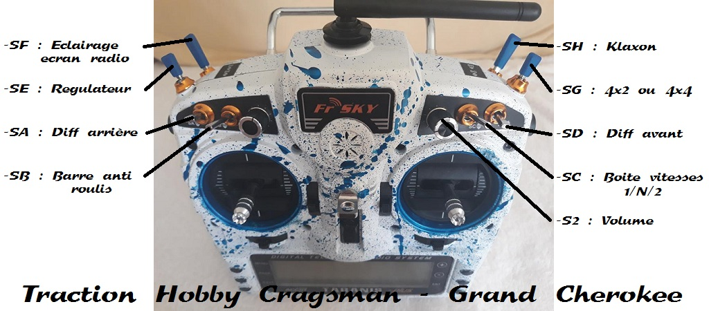 TRACTION HOBBY CRAGSMAN - Jeep Grand Cherokee 5.7L Limited 2006 99