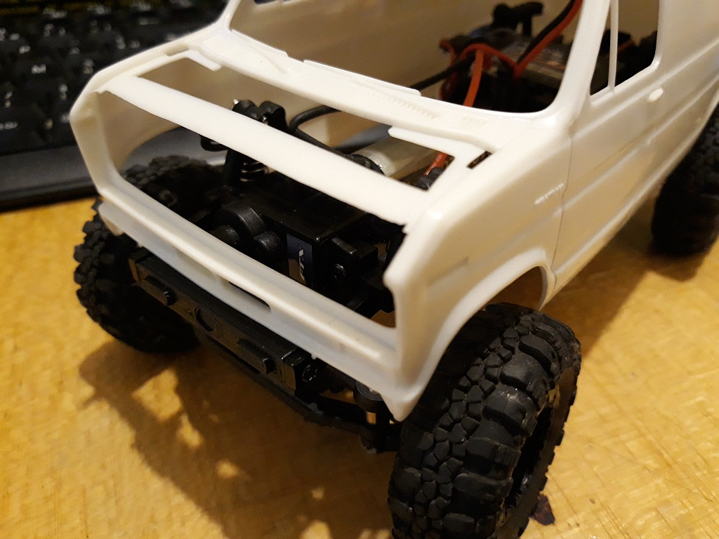 [micro ftx 1/24] Ford Econoline custom 1/25 07