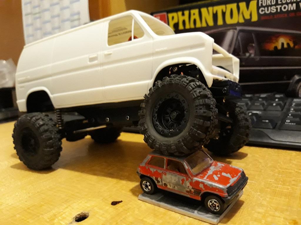 [micro ftx 1/24] Ford Econoline custom 1/25 15