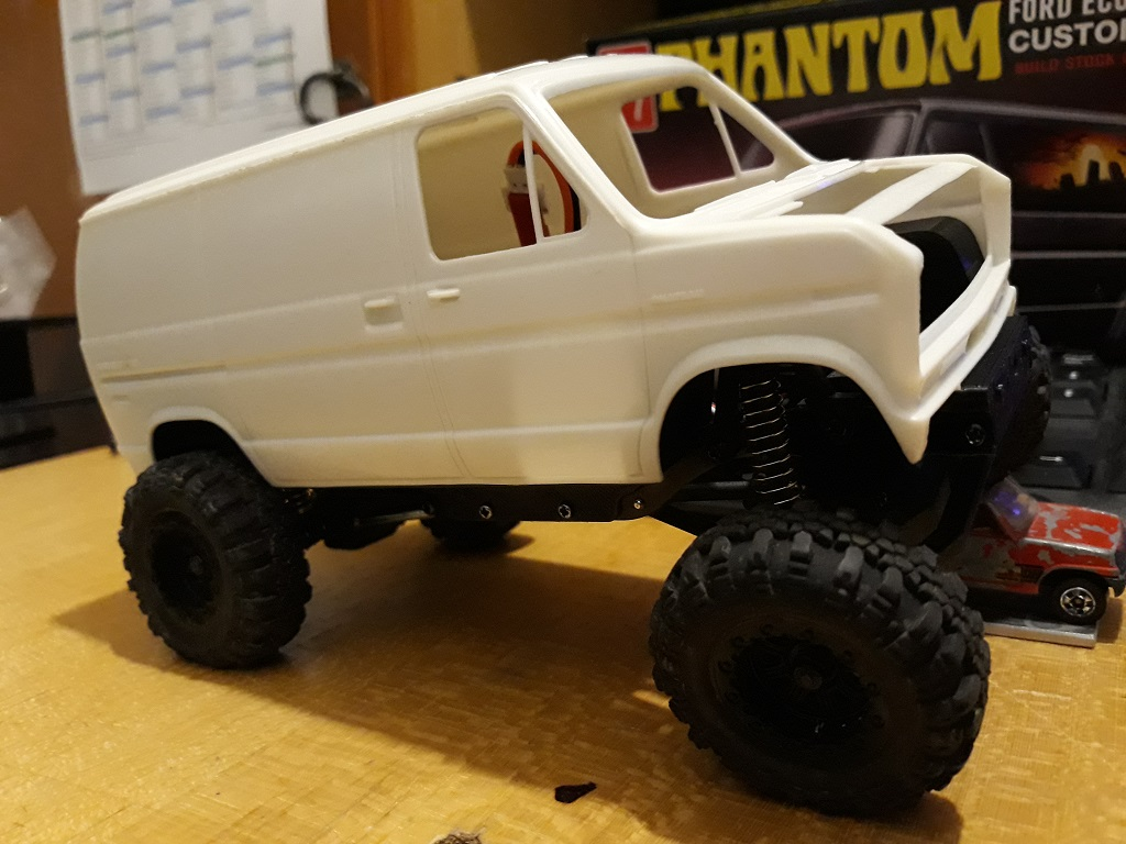 [micro ftx 1/24] Ford Econoline custom 1/25 16