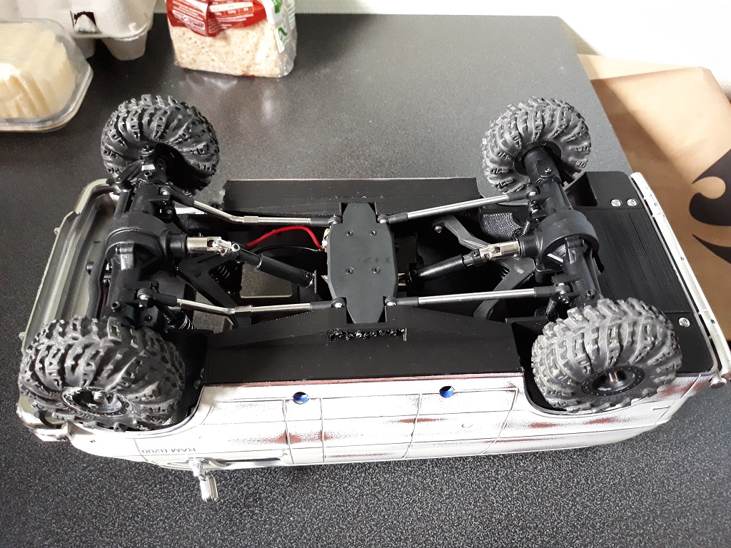 [vaterra Slickrock] Dodge Ram Lunch Box Tamiya 1/14 06