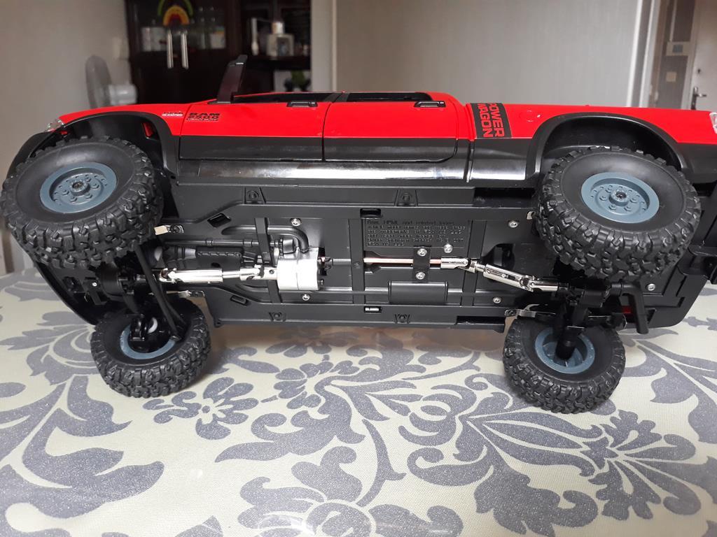 [WPL] Dodge Ram 2500 Heavy Duty Bruder 1/14 sur base WPL WPLB1 69
