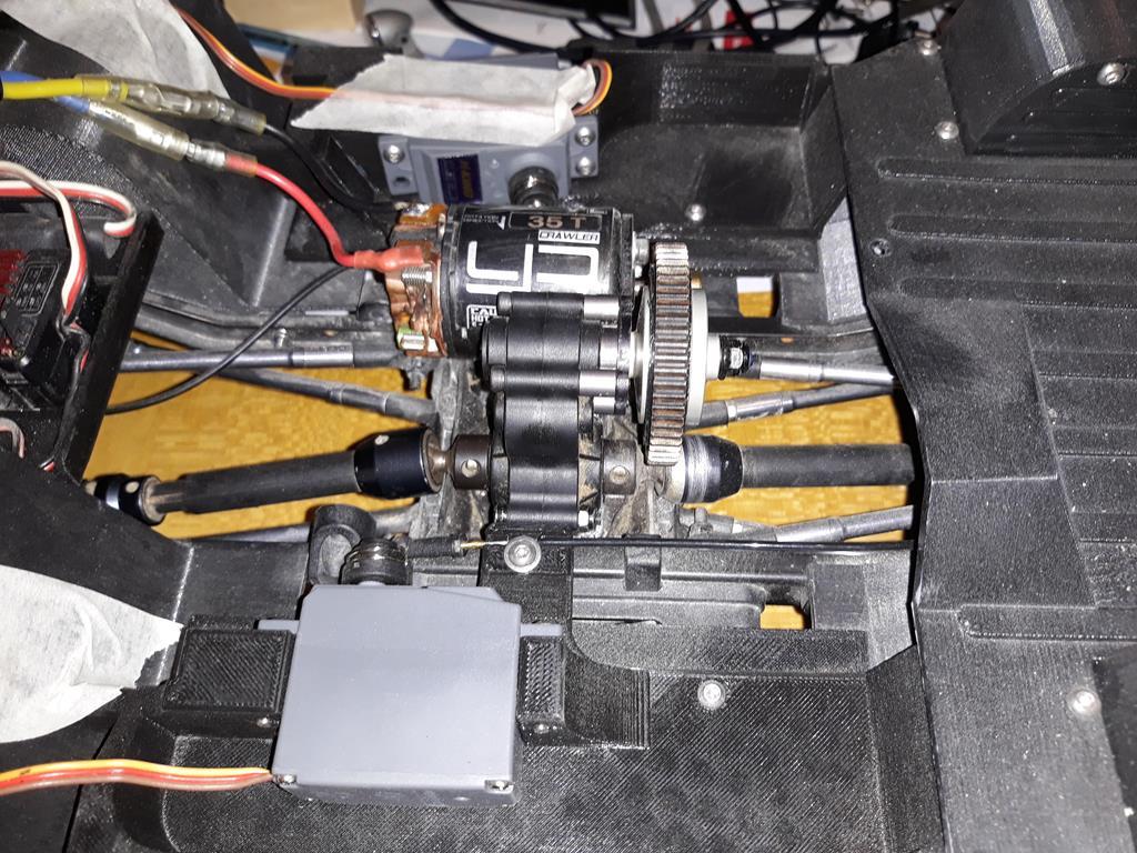Micro servo en remplacement des 2065 du TRX-4 : différentiel et boite de vitesse - Page 5 06