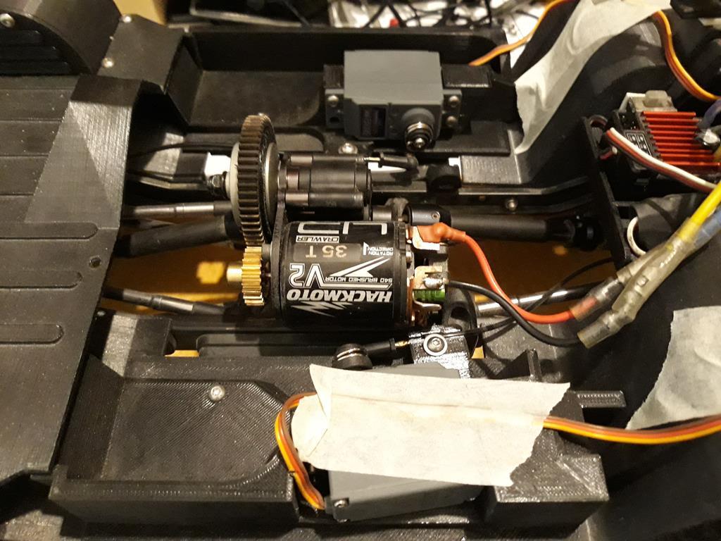 Micro servo en remplacement des 2065 du TRX-4 : différentiel et boite de vitesse - Page 5 11