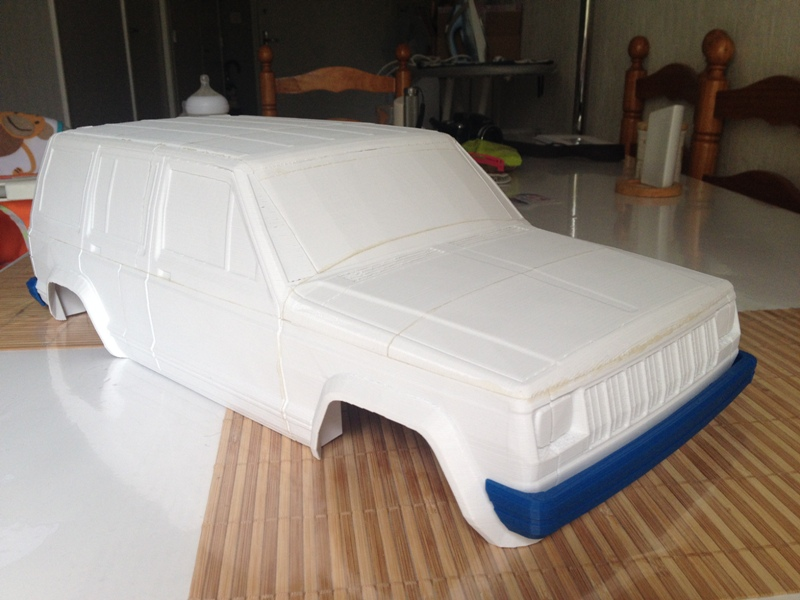[Axial SCX10] Jeep Cherokee 1990 - ech:1/8 - Impression 3D Cherokee-10
