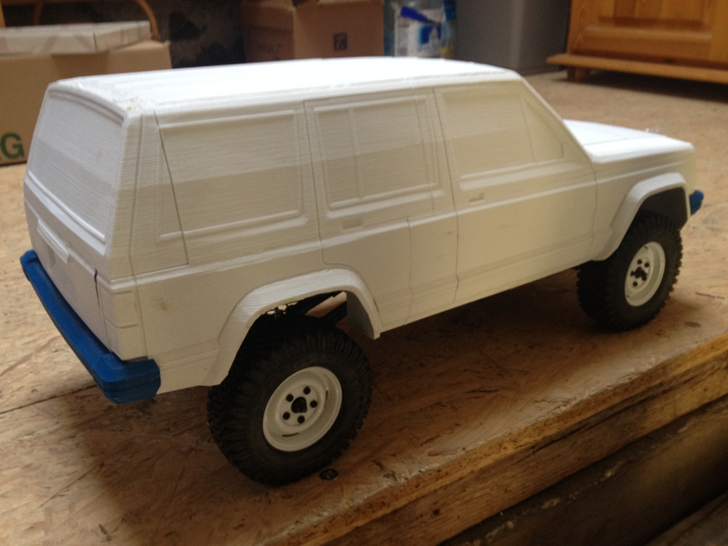 [Axial SCX10] Jeep Cherokee 1990 - ech:1/8 - Impression 3D Cherokee-15