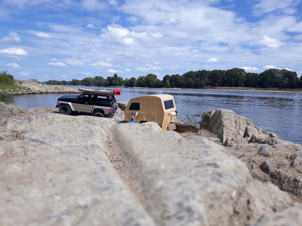 Axial SCX10 Nissan Patrol Y60 - ech:1/8 - Impression 3D Patrol-109