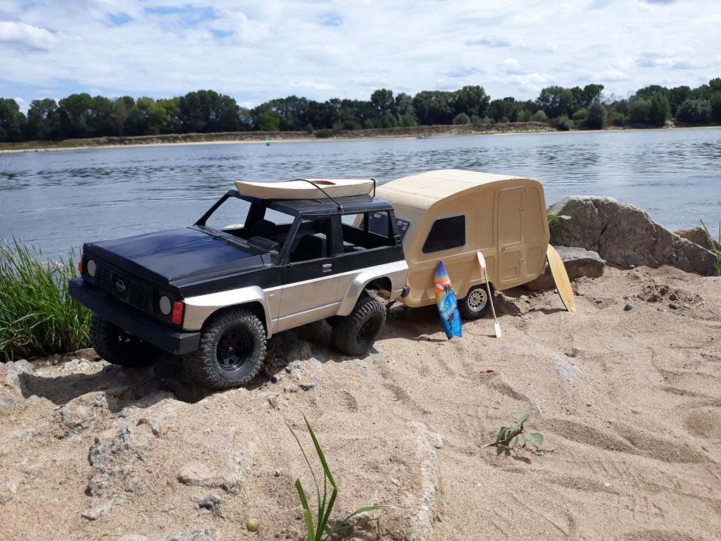 Axial SCX10 Nissan Patrol Y60 - ech:1/8 - Impression 3D Patrol-115